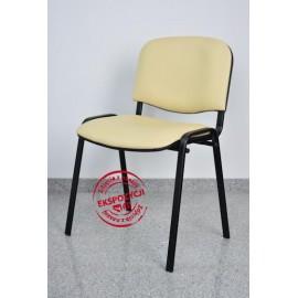 Krzesło konferencyjne ISO skaj beżowe