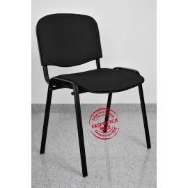 Krzesło konferencyjne ISO skaj czarne