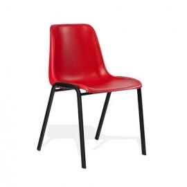 Krzesło konferencyjne MAXI czerwone