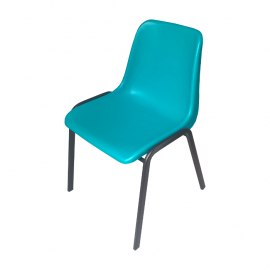 Krzesło konferencyjne MAXI turkusowe